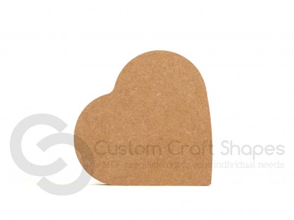 Heart on the Side, Freestanding (18mm)