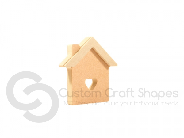 House with 3D Roof (18mm + 6mm)