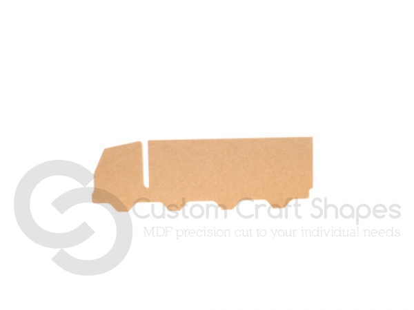 Freestanding Lorry Shape (18mm)