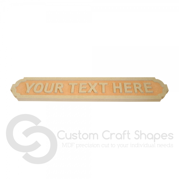 FREESTANDING, Personalised Road Sign (18mm)
