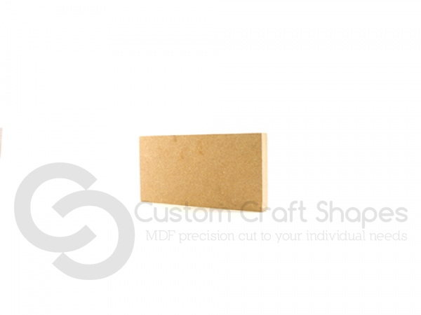 Freestanding Plaque Squared Corners (18mm)