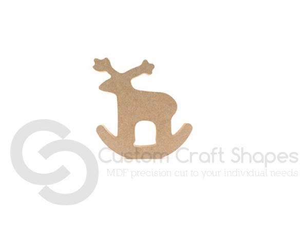 Freestanding Rocking Reindeer (18mm)