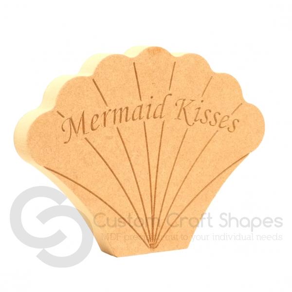 Mermaid Kisses, Shell (18mm)
