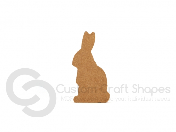 Freestanding Sitting Rabbit (18mm)