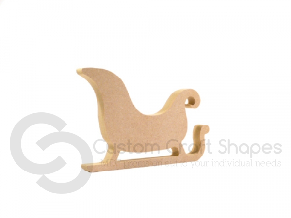 Freestanding Sleigh Shape (18mm)