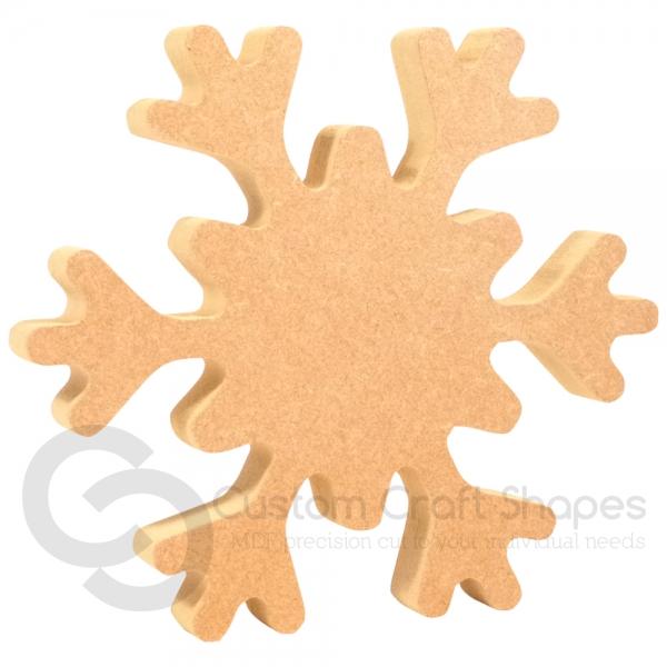 Freestanding Snowflake (18mm)