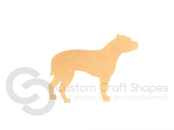 Freestanding Staffy Dog (18mm)
