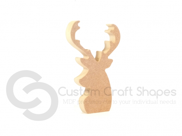 Freestanding Stag Head (18mm)