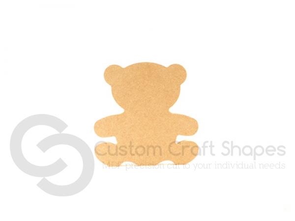 Freestanding Teddy Bear (18mm)  SHAPE 1