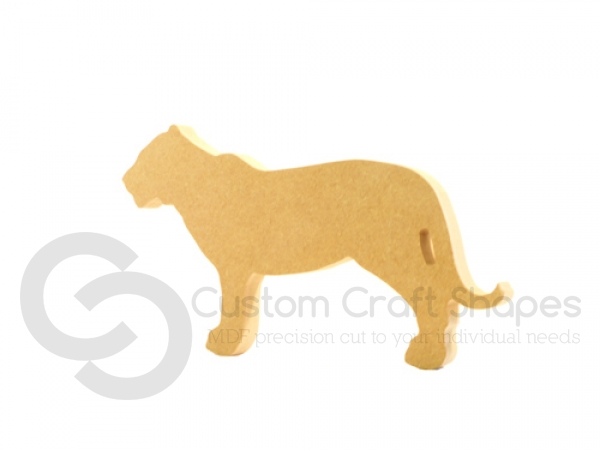 Freestanding Tiger Shape (18mm)