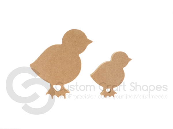 Freestanding Traditional Easter Chick (18mm)