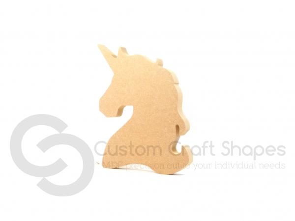 Freestanding Unicorn Head (18mm)