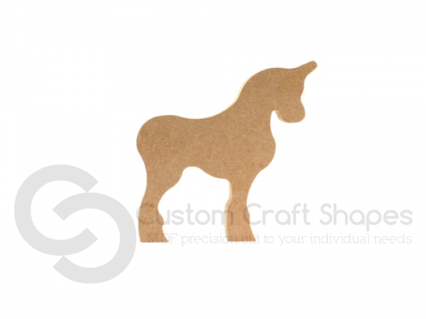 Freestanding Unicorn without Tail (18mm)
