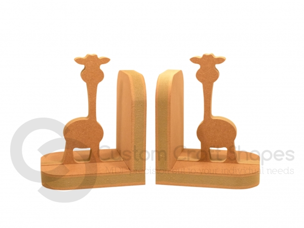 Giraffe Bookends (18mm)
