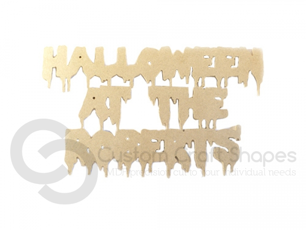 Halloween at the Sign (6mm)