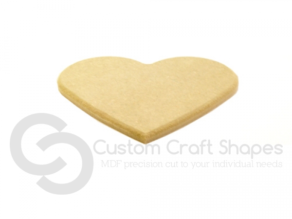 Heart with Rounded Edge (6mm)