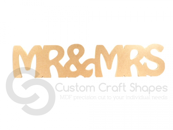 Hobo Font, MR&MRS (1 piece) (18mm)