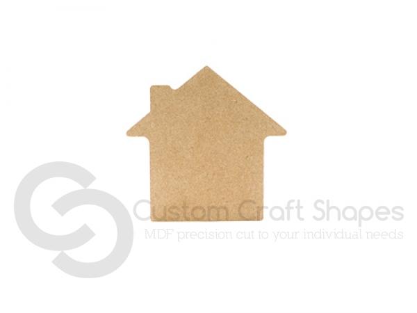 House Shape, plain (6mm)