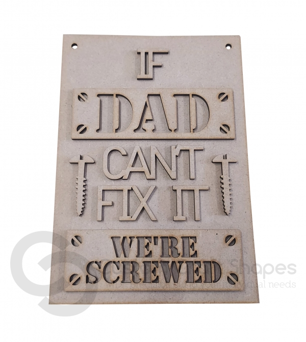 If Dad can't fix it we're screwed (3mm)