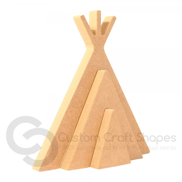 Interlocking Wigwam Shape (18mm)