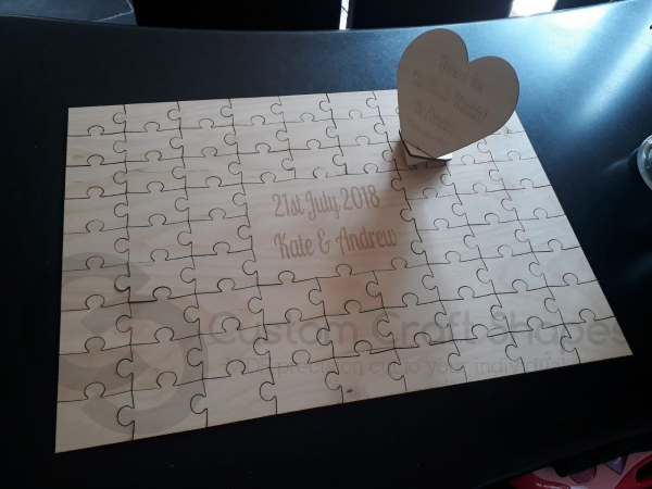 Jigsaw Guestbook (3mm Ply)
