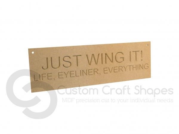 Just Wing It (6mm)