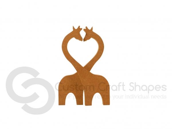 Kissing Giraffes (18mm)