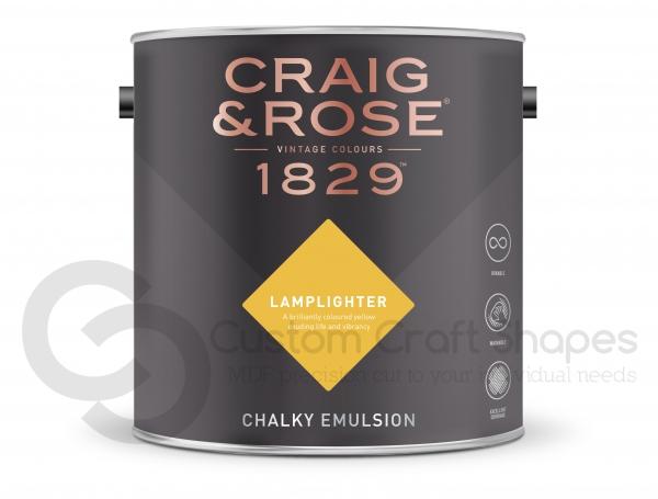 Lamplighter Chalky Emulsion, Craig & Rose Paint