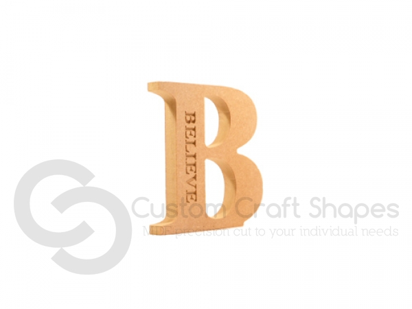 Large Engraved Letters (18mm)