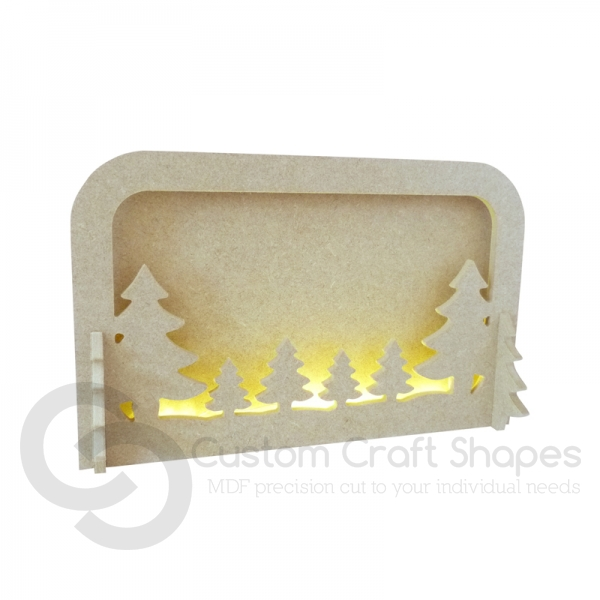 LIGHT UP Layered Tree Scene (6mm)