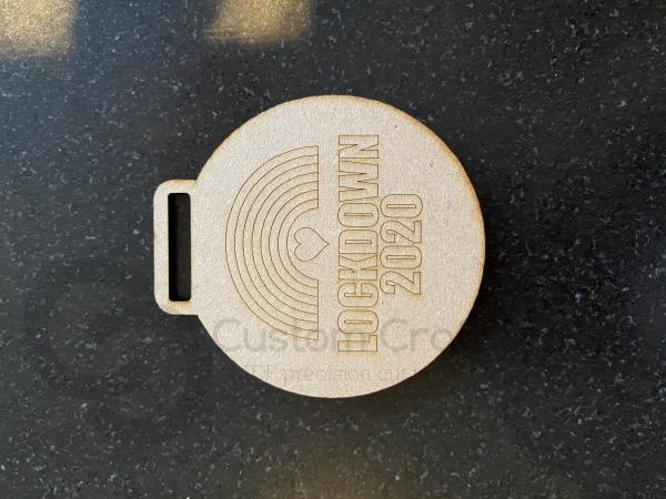Lockdown Medal (3mm)