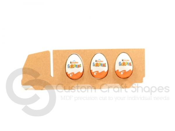 Lorry Kinder Egg Holder (18mm)