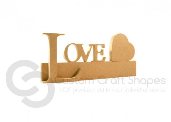 LOVE Quote Block (18mm)