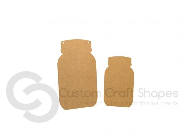 Mason Jar Shape (6mm)