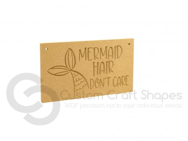 Mermaid Hair Don't Care (6mm)