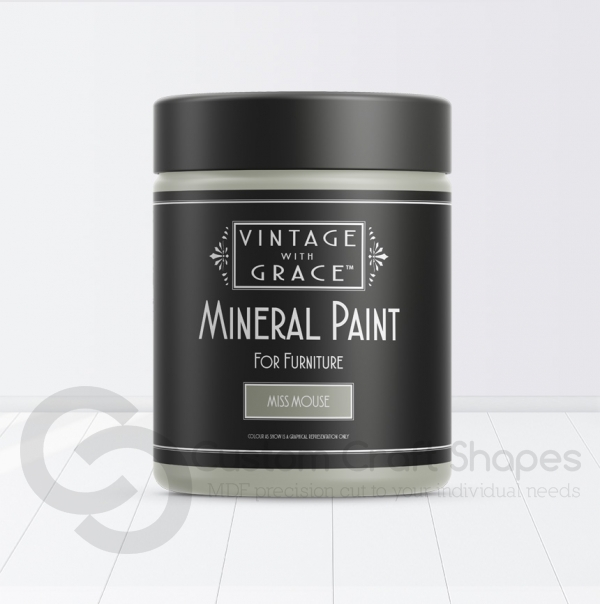 Miss Mouse, Mineral Chalk Paint, Vintage with Grace
