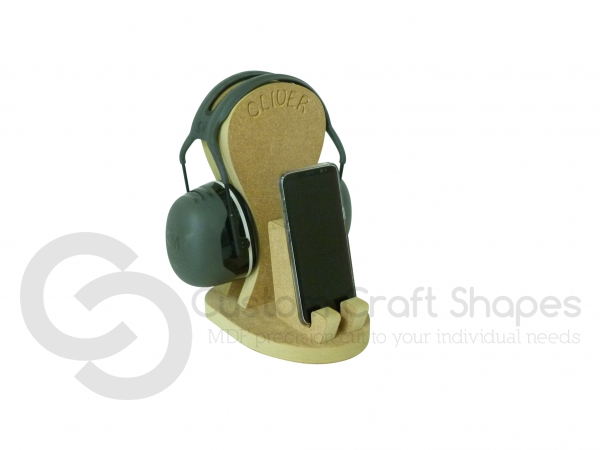 Mobile Phone and Headphones Holder