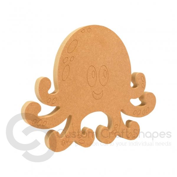 Octopus Shape (18mm)