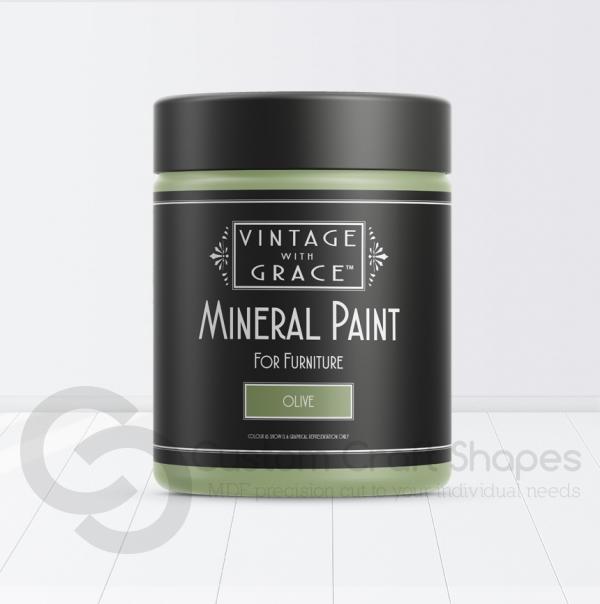 Olive, Mineral Chalk Paint, Vintage with Grace