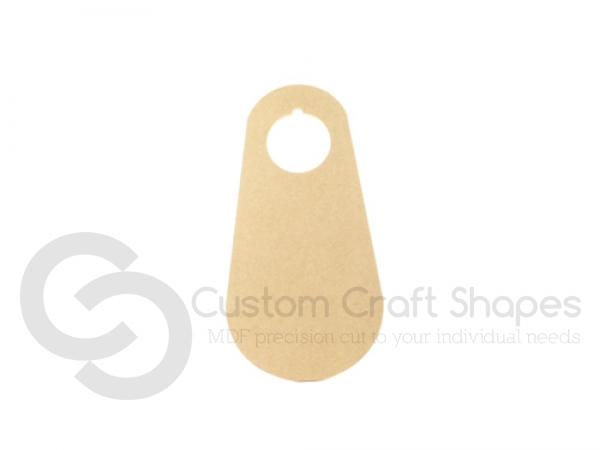 Oval Door Hanger (6mm)