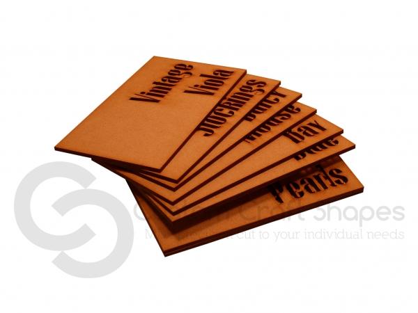 Paint Colour Sample Plaques (3mm)