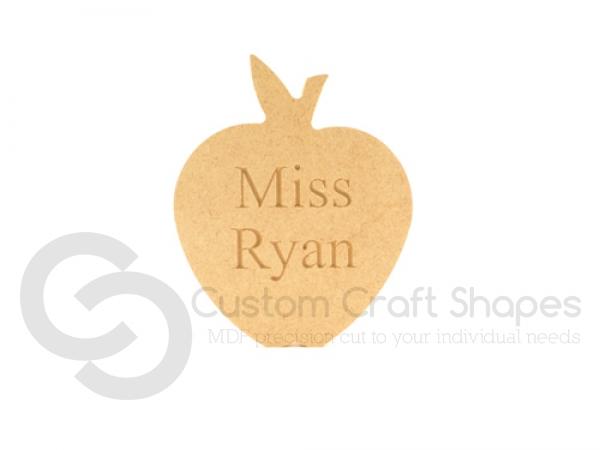 Personalised Engraved Freestanding Apple (18mm)