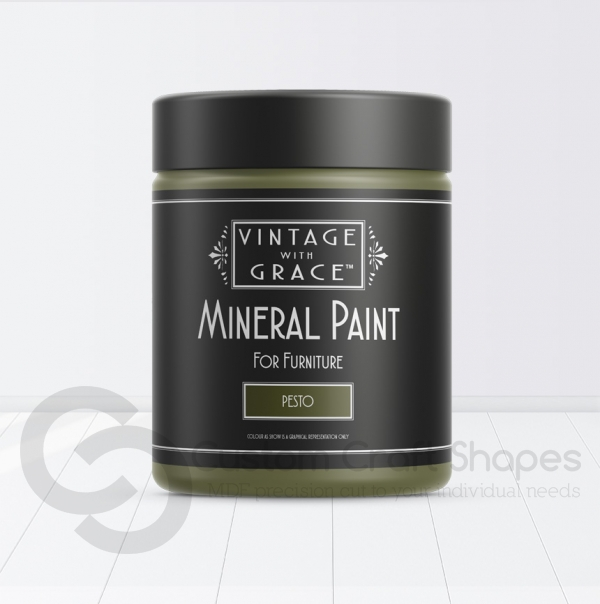 Pesto, Mineral Chalk Paint, Vintage with Grace
