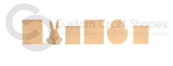 Plain EASTER Blocks (18mm)