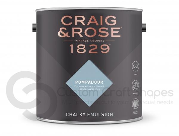 Pompadour Chalky Emulsion, Craig & Rose Paint