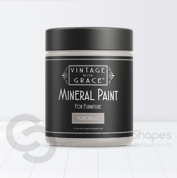 Portobello, Mineral Chalk Paint, Vintage with Grace
