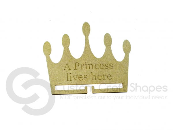 Princess Bow / Medal Holder (6mm)