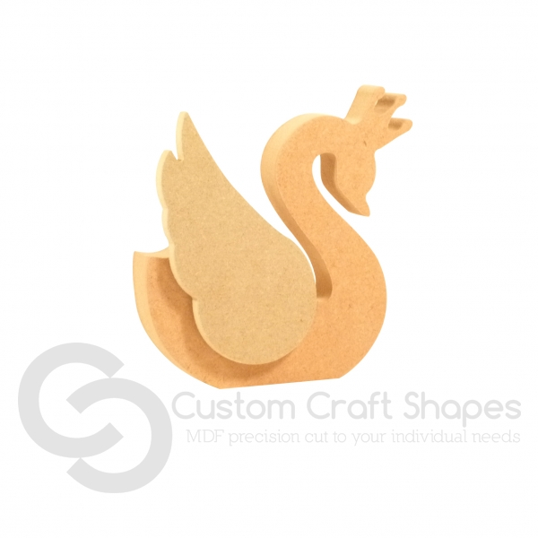 Princess Swan with a single 3D Wing (18mm + 6mm)
