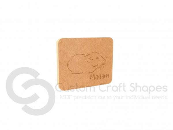 Rat/Hamster Plaque (18mm)