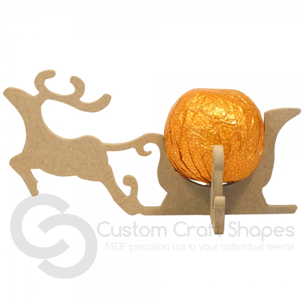 Reindeer Chocolate Orange Holder (6mm)